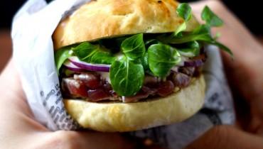 "Burger ""Shiso-Style"""