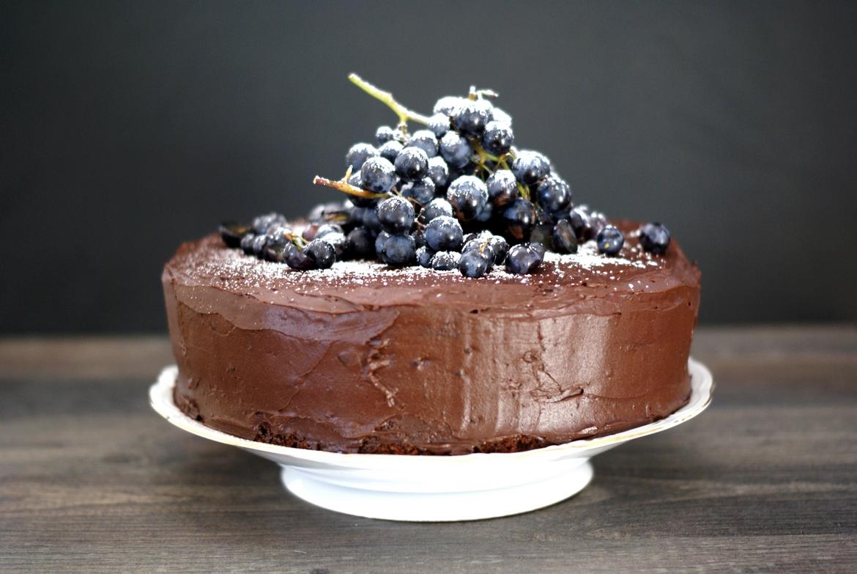 Schokolade-Nuss-Torte